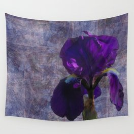 Captivating Iris Wall Tapestry