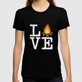 Campfire Love Camping T-shirt