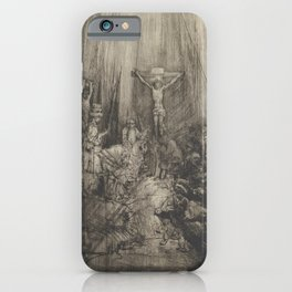 The Three Crosses, 4th State iPhone Case
