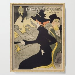 """Henri de Toulouse-Lautrec """"Divan Japonais"""" Serving Tray"""