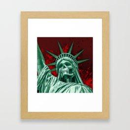 Liberty or Death Framed Art Print