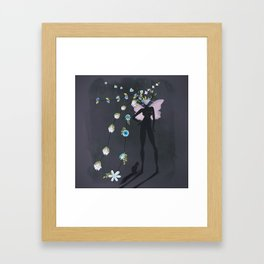 love makes you grow Framed Art Print