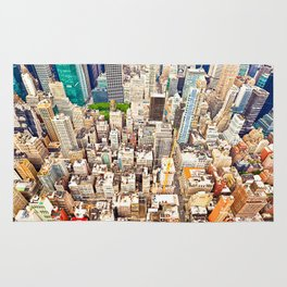 New York Buildings Rug