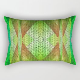 digital texture Rectangular Pillow