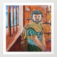 greek Art Prints featuring Greek by ArtEmpowered