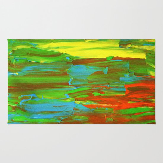 Abstract Painting 28 Rug