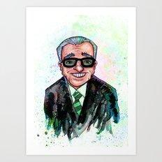 Martin Scorsese Art Print