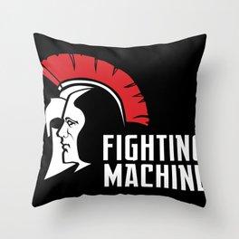 Fighting Machine 3 Throw Pillow