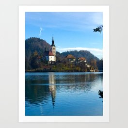 Bled Island Photography Art Print