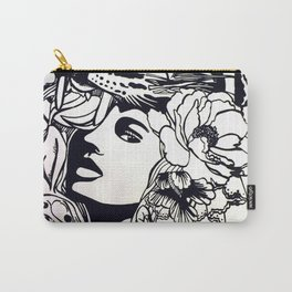 Strong Girl Carry-All Pouch