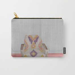 Flamestitch armchair Carry-All Pouch