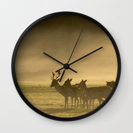Richmond Park, Jan'16 (933) Wall Clock