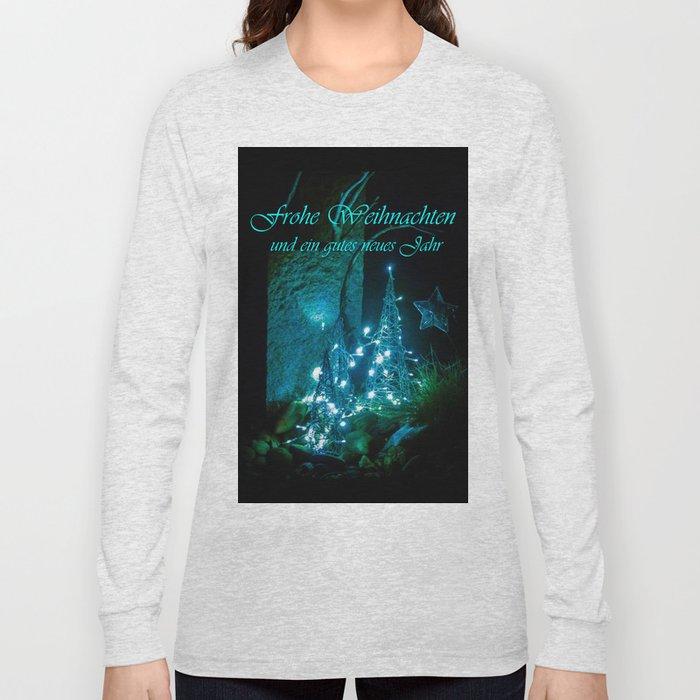 Frohe Weihnachten und ein gutes neues jahr Long Sleeve T-shirt