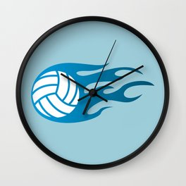 The Volleyball I Wall Clock