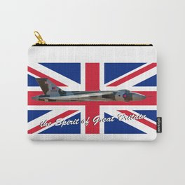 The Spirit of Great Britain and Union Jack Carry-All Pouch