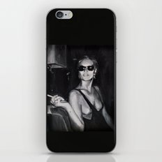 Kate Moss Painting  iPhone & iPod Skin