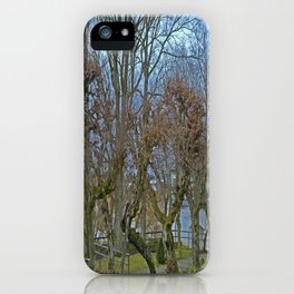 Castle garden Laupheim iPhone Case