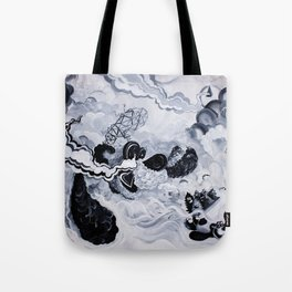 Panda Inception Tote Bag