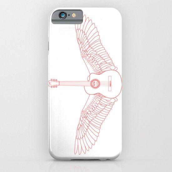 Flying Guitar. iPhone & iPod Case