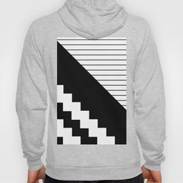 Phases Of Black And White Hoody