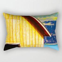 Wine Barn Riverside Rectangular Pillow