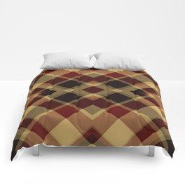 Colors Of Christmas (Plaid 3) Comforters