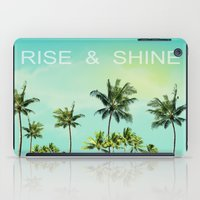 palm trees iPad Cases featuring Palm trees  by mark ashkenazi