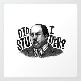 Stanley | Office Art Print
