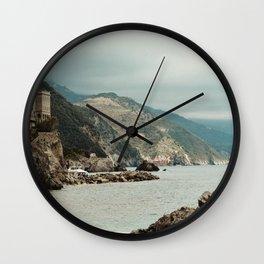 monterosso al mare2 Wall Clock