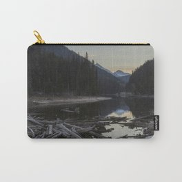Sunrise at Lillooet Lake Carry-All Pouch