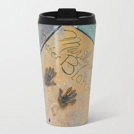 Marilyn Hand Prints in Hollywood Travel Mug