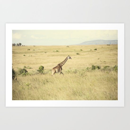 journey::kenya Art Print