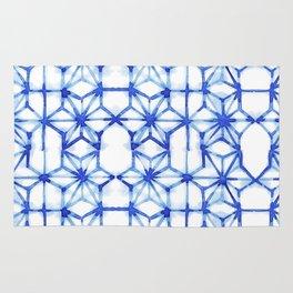 Abstract geometric star Rug
