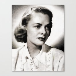 June Lockhart, Vintage Actress Canvas Print