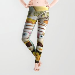 Eat the World Leggings