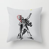 Chief of The Court Throw Pillow