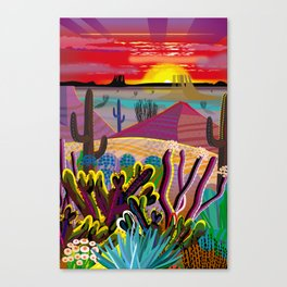 The Desert in Your Mind Canvas Print