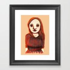 Afternoon Girl Framed Art Print