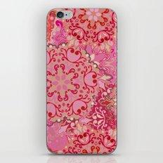 Boho Floral Mandela 3 iPhone & iPod Skin