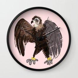 Cinereous vulture (GREFA) 2017 Wall Clock