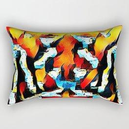 Abstract 6 Rectangular Pillow