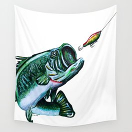 Lured Wall Tapestry