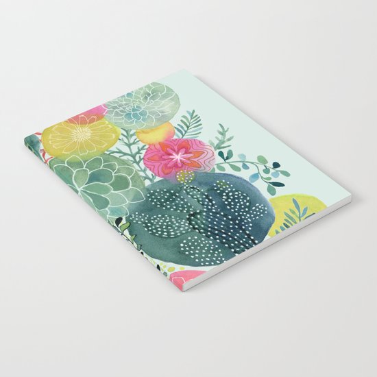 Succulent Circles Notebook