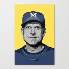 The Coach Canvas Print