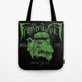 FrankenWolf Tote Bag