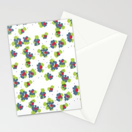naive flowers pattern Stationery Cards
