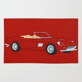 Ferrari 250 GT Califonia Spyder Rug
