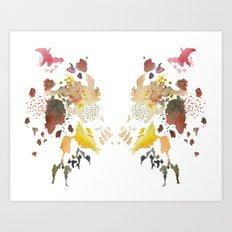 Wings of Color Art Print