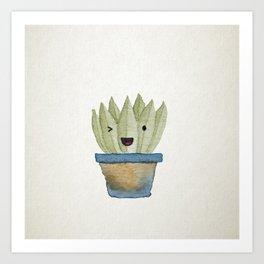 Aloe You! Art Print