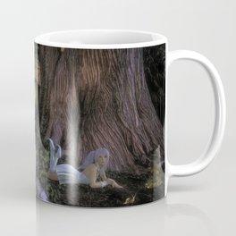 Elyssa The Blue Haired Elf Coffee Mug